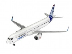 1/144 Airbus A321 Neo Lufthansa Model Set with paint & glue