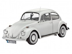 1/24 1968 VW Beetle Hardtop Car Plastic Model Kit