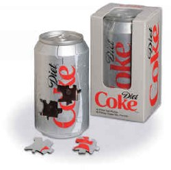 Diet Coca-Cola 3-D Can Puzzle