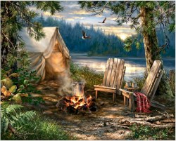 Evening at the Lake 500pc Puzzle