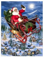 Delivering Christmas - 500pc