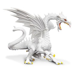 Glow-in-the-Dark Snow Dragon