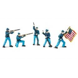 Civil War Union Soldiers Designer Toob #1 (5 pcs)