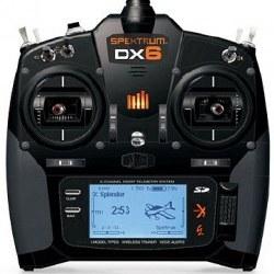 DX6e 6-Channel DSMX Radio Transmitter w/AR620