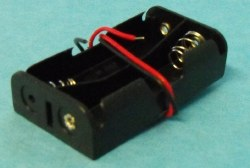 Battery Box for 2AA Batt wired