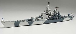 1/700 US Battleship Iowa Plastic Model Kit
