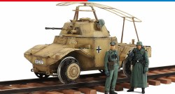1/35 German Armored Railway Vehicle P204 (f) Model Kit