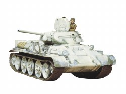 1/35 Russian Tank T34/76, 1942 Production Model Kit