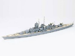 1/700  German Battlecruiser Gneisenau Plastic Model Kit