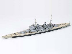 1/700  HMS King George V Battleship Plastic Model Kit