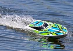 Blast Race Boat RTR w/Waterproof ESC - Green