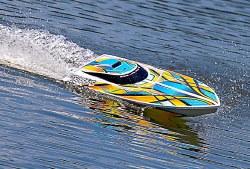 Blast Race Boat RTR w/Waterproof ESC - Orange