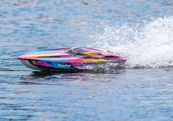 """Spartan Brushless Race Boat - 36"""" - Pink"""
