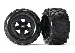 Tires & Wheels - 5-spoke Wheels/ Teton Tires (2)