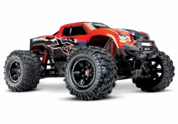 X-Maxx 8s: Brushless Electric Monster Truck - Red