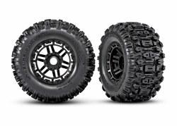 Tires & Wheels - Assembled Black Rim Sledgehammer 17mm