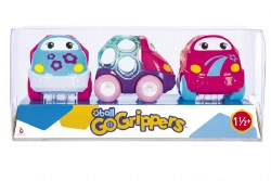 Oball Go Grippers Pink Vehicles