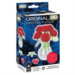 3D Crystal Puzzle- Roses