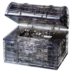 3D Crystal Puzzle- Treasure Chest