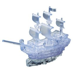 3D Crystal Puzzle- Pirate Ship Deluxe