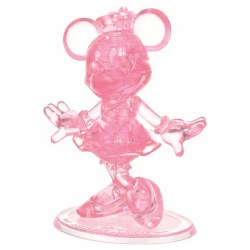 3D Crystal Puzzle- Minnie Mouse Deluxe