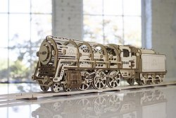 UGears: Locomotive with Tender