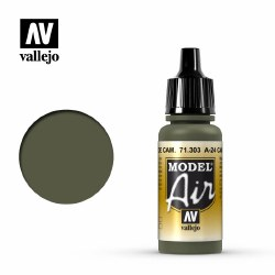 A-24M Camouflage Green  - Model Air - 17ml