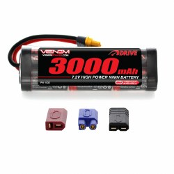 Venom 7.2V NiMH 3000mAh 6-Cell Battery with Universal Plug