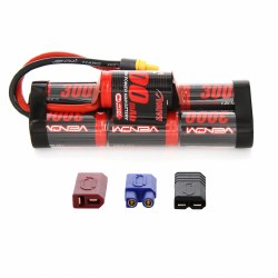 Venom 8.4V NiMH 3000mAh 7-Cell Hump Pack Battery with Universal Plug