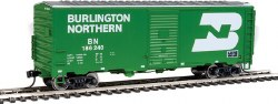 Burlington Northern 1948 - 40' AAR #186240 Box Car