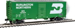 Burlington Northern 1948 - 40' AAR #187324 Box Car