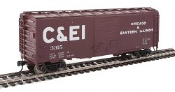 Chicago & Eastern Illinois - 40' ACF #3315 Welded Youngstown Door Box Car