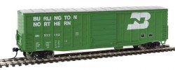 Burlington Northern - 50' AAR #332152 Waffle-Side Box Car