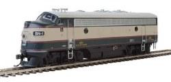 Burlington Northern - EMD F7 A #1, Standard DC