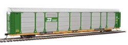 Burlington Northern 89' Thrall Bi-Level Auto Carrier #150850