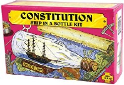 USS Constitution Ship in a Bottle Kit