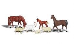 Livestock HO Scale
