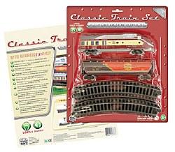 Classic toy Train Set 14-pc