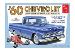 1/25 1960 Chevrolet Custom Fleetside Pickup Truck with Go Kart