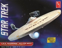1/537 Star Trek USS Enterprise NCC 1701 Refit Model Kit