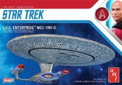 1/2500 Star Trek: The Next Generation: USS Enterprise NCC1701D