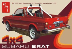 1/25 1978 Subaru Brat 4x4 Pickup Truck Plastic Model Kit