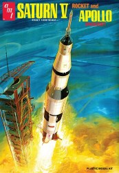 1/200 Saturn V Rocket Plastic Model Kit
