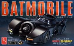 1/25 1989 Batmobile Plastic Model Kit