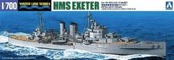 1/700 HMS Exeter Heavy Cruiser Waterline Model Kit