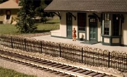 Hairpin Style Fence HO Scale