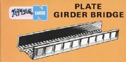 Plate Girder Bridge N Scale