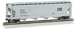 56' ACF Center Flow Hopper CSX HO