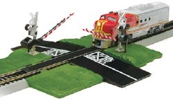 Dual Crossing Gate HO Scale