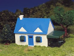 Cape Cod House Snap Kit - HO Scale